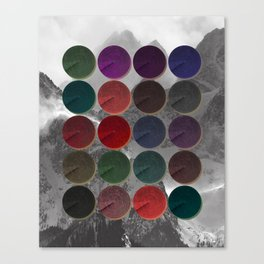 Crop Circles 1 Canvas Print