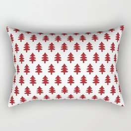Hand drawn christmas trees Rectangular Pillow
