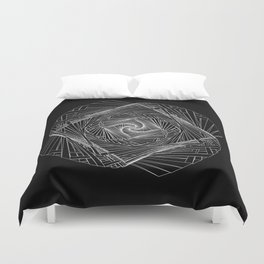 Twisted Geometry Duvet Cover