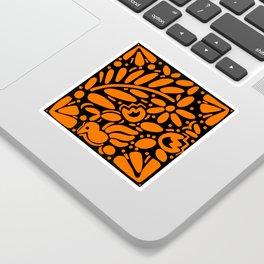 Beautiful Orange Otomi Sticker