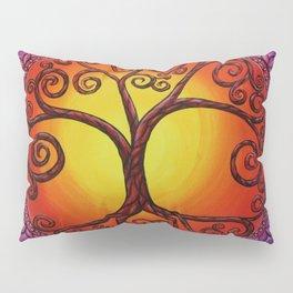 Tree of Life Mandala Pillow Sham