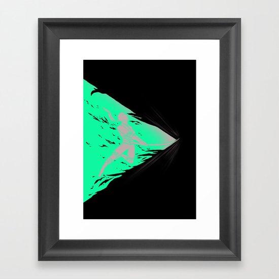 SAYONARA! Framed Art Print