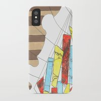 maps iPhone & iPod Cases featuring Maps by Shannon Rutherford