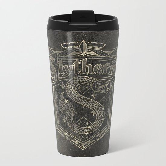 Slytherin House Metal Travel Mug