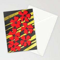 Gold Benihana Stationery Cards