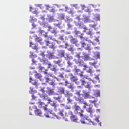 Violets are blue Wallpaper
