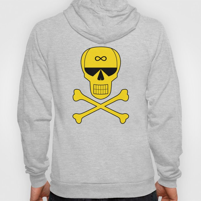 Space Pirate Jolly Roger Hoody