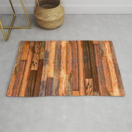 Rustic Texture - Natural vintage decorative material for your home Rug