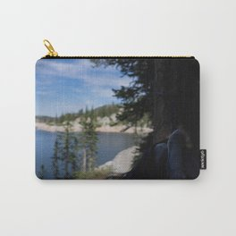 relaxing at lake mary Carry-All Pouch