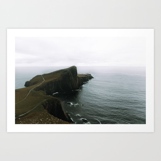 Neist Point Lighthouse II - Landscape Photography Art Print