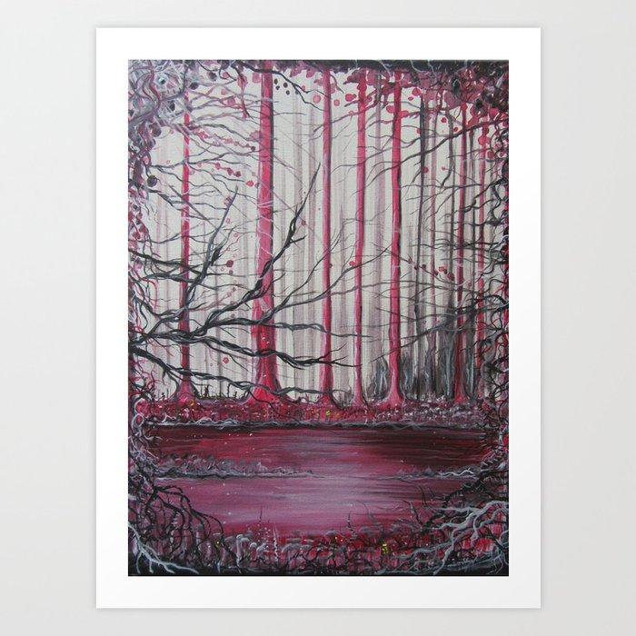 Fireroot Art Print
