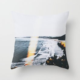 SEASCAPE BURN Throw Pillow