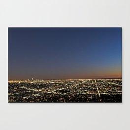 Los Angeles, CA Canvas Print
