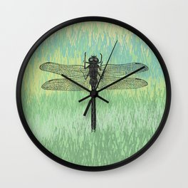 Dragonfly ~ The Summer Series Wall Clock