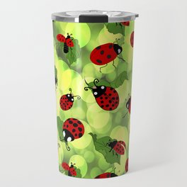 Ladybug Bubbles Travel Mug