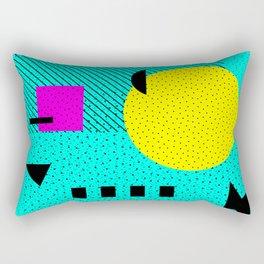 Hello Memphis Lemon Splash Rectangular Pillow