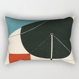 Bauhaus Ausstellung - Exhibition poster 1923 Weinar Rectangular Pillow
