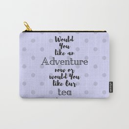 Tea & Adventures Carry-All Pouch
