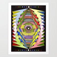 The Singular Vision Art Print