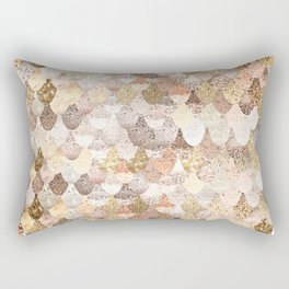 MERMAID GOLD Rectangular Pillow