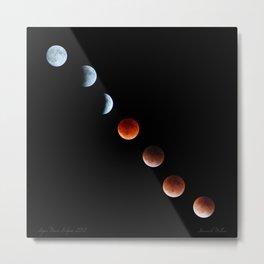 Super Moon Eclipse 2015 Metal Print