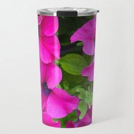Beautiful pink petunias Travel Mug