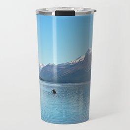 Serenity at Lake Maligne Travel Mug