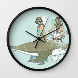 In Oceanic Fashion Wall Clock