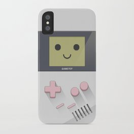 GAMETOY - White Pink         Game Boy, toy, Gameboy iPhone Case