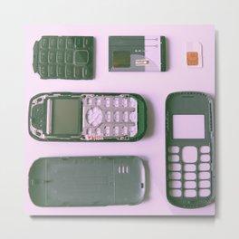 #01#Handphone#parts Metal Print