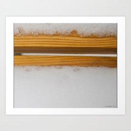Thinking of Rothko Art Print