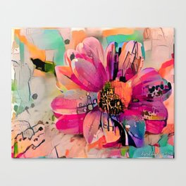 Floral 1a Canvas Print