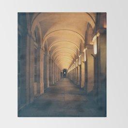 Arcades Grand Théâtre - Bordeaux Throw Blanket