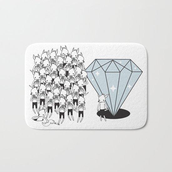 I GOTTA BIG DIAMOND  Bath Mat