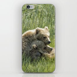 I Got Your Back - Bear Cubs, No. 4 iPhone Skin