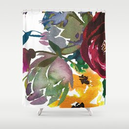October Rain Shower Curtain