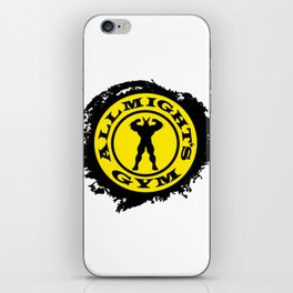 Allmight Gym Boku No Hero academia my hero academia iPhone Skin