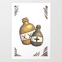 Grog + Serum Art Print