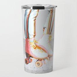 Skating #illustration #lifestyle Travel Mug