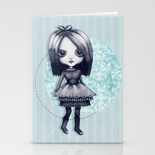 Gothy Girl Stationery Cards