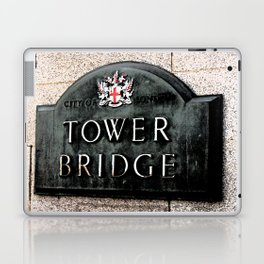 Tower Bridge Laptop & iPad Skin