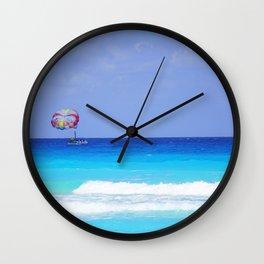 Calm Blue Water Wall Clock