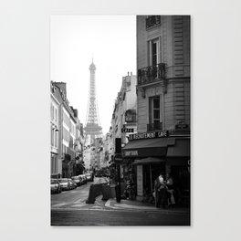 Paris Street Canvas Print