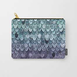MAGIC MERMAID - MYSTIC TEAL-PURPLE Carry-All Pouch