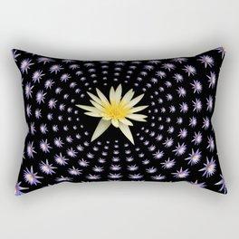 Dissolved in Beauty Rectangular Pillow