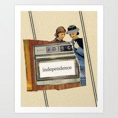 independence Art Print