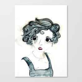 Anxiety. Canvas Print