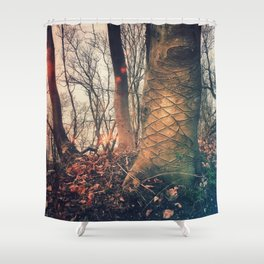Scars of a life Shower Curtain
