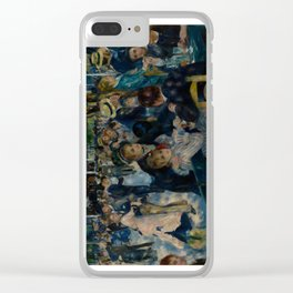 Auguste Renoir - Dance at Le Moulin de la Galette Clear iPhone Case