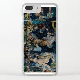 Auguste Renoir - Dance at Le Moulin de la Galette Clear iPhone Case